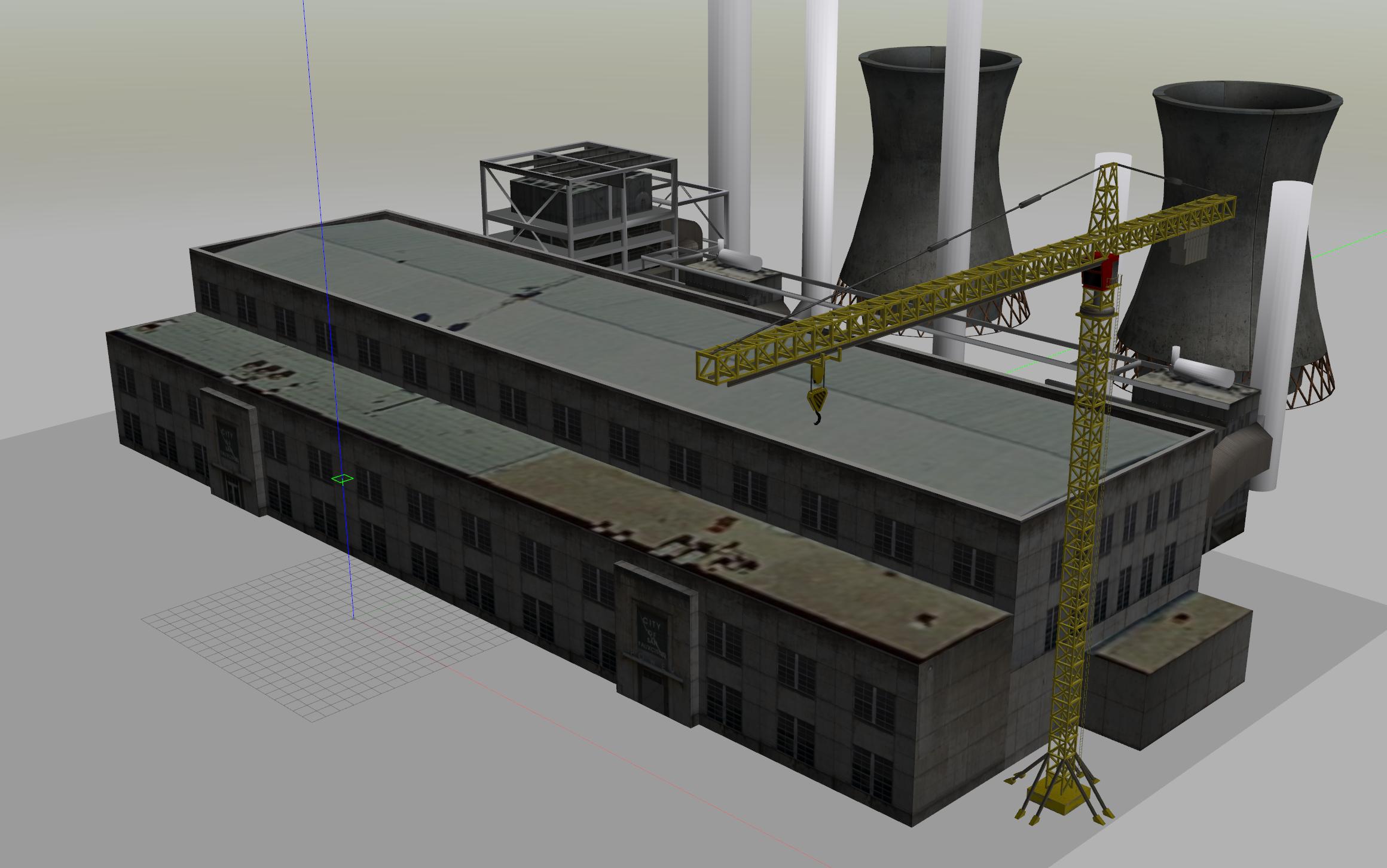 Simulation mit Drohne im virtuellen Raum